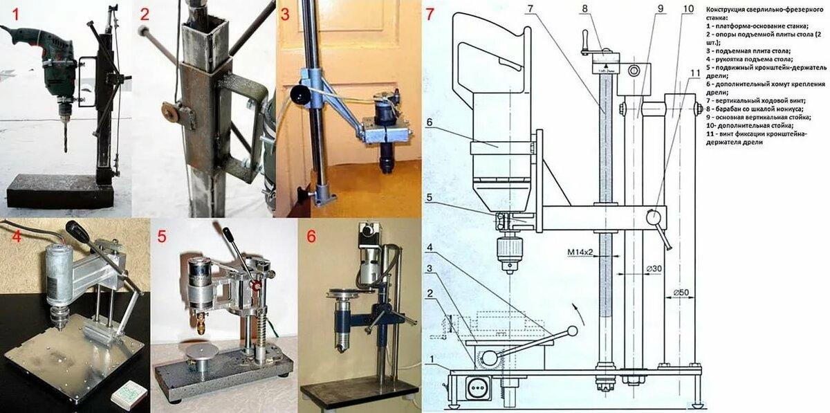 Ремонт дрели своими руками и схема ее устройства