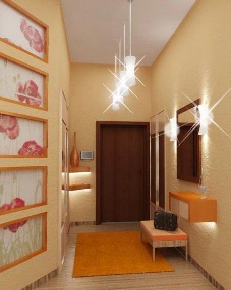 12 рекомендаций по освещению коридора квартиры