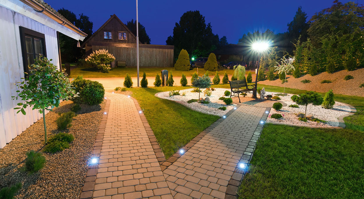 Уличные светильники для загородного дома и участка