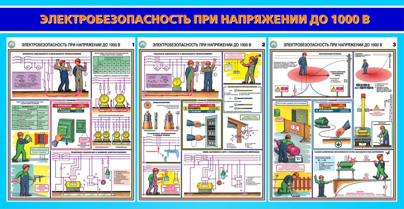 Правила электробезопасности
