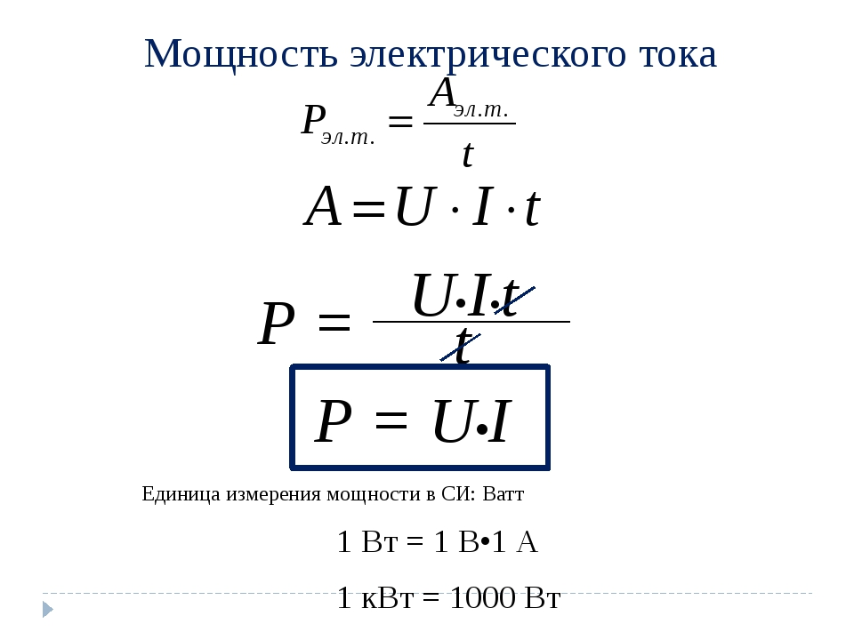 Что измеряется в ваттах