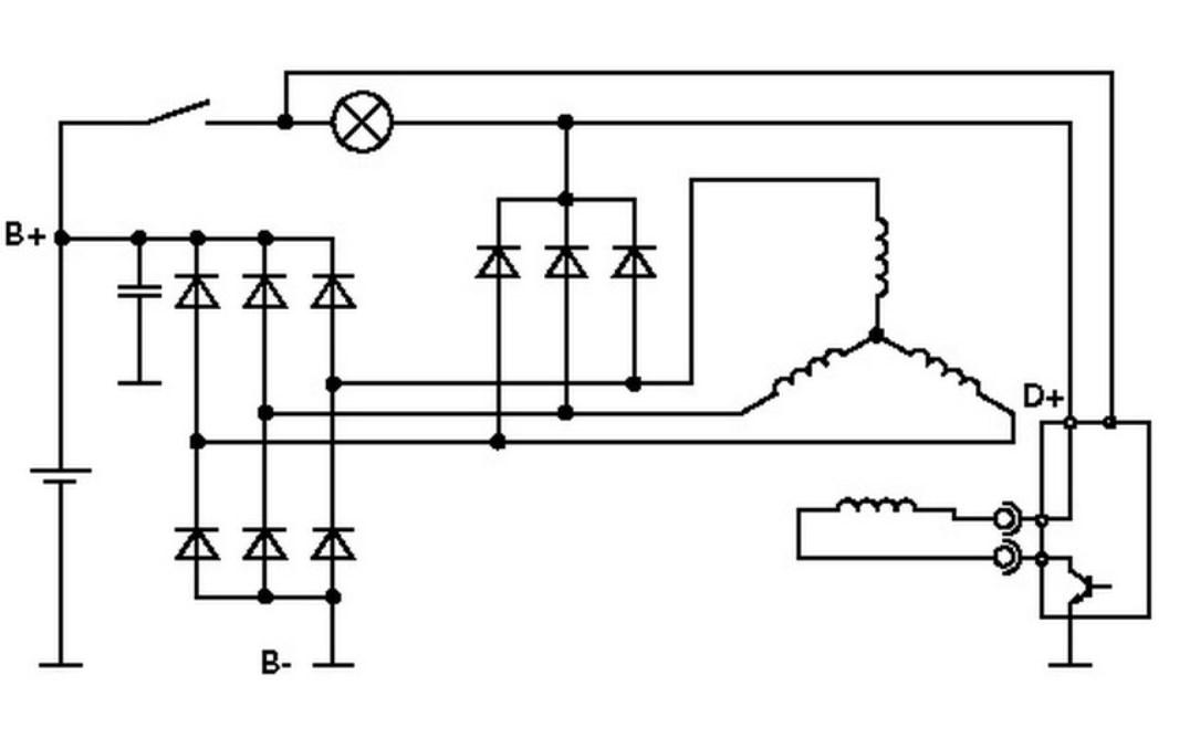 Принцип работы генератора. принцип работы генератора постоянного тока