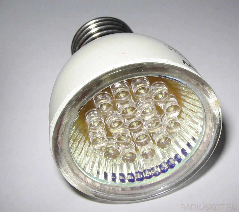 Схема светодиодной лампы на 220 в