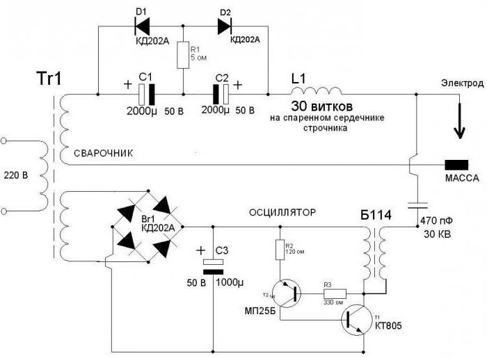 Осцилятор для инвертора