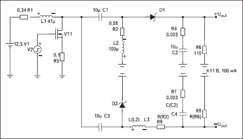 Цифровые импульсные преобразователя напряжения под управлением микроконтроллера (часть 1)