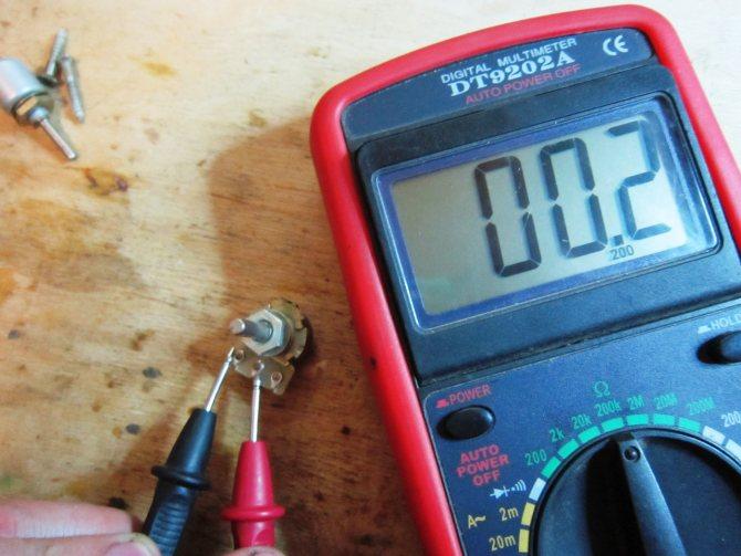 Как проверить и измерить сопротивление резистора мультиметром