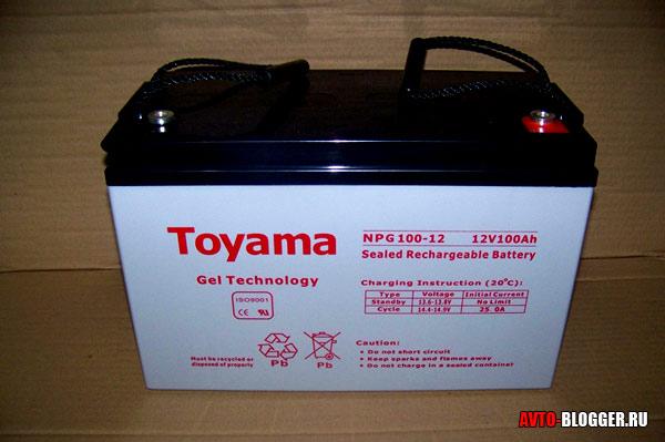 Как зарядить гелевый аккумулятор?