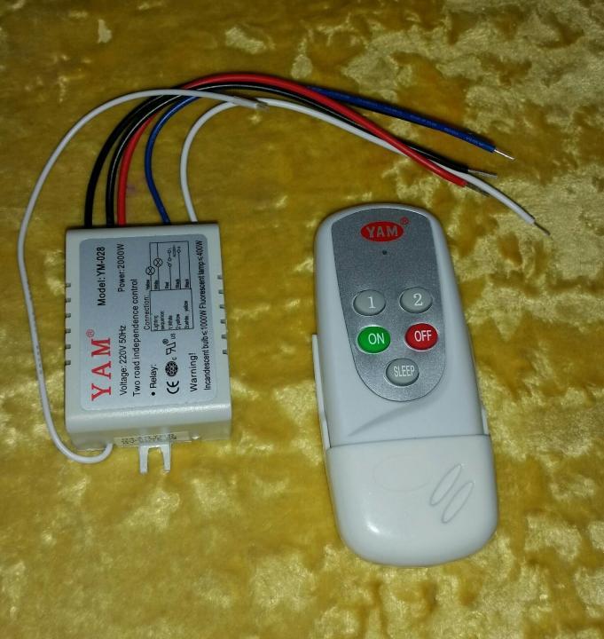 Дистанционные выключатели света: виды, устройство и подключение