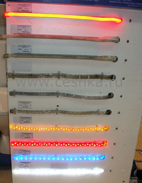 Что лучше выбрать: дюралайт или светодиодную ленту?