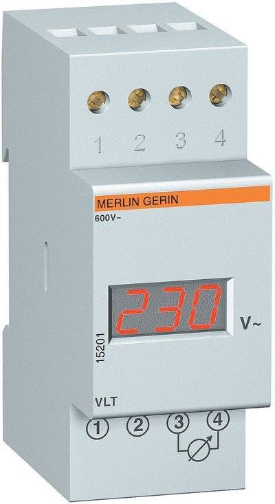Амперметр/вольтметр вар-м02-63 на din рейку (бытовой)