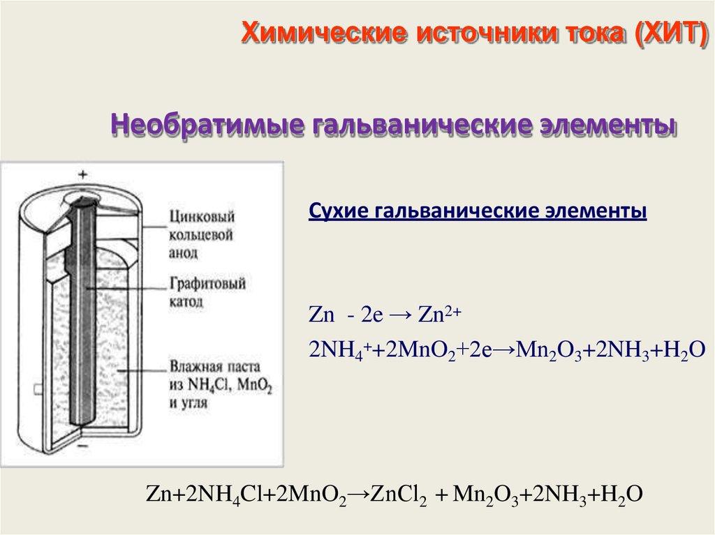 Химический источник тока