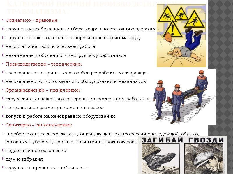Роль охраны труда и ее состояние на современном производстве