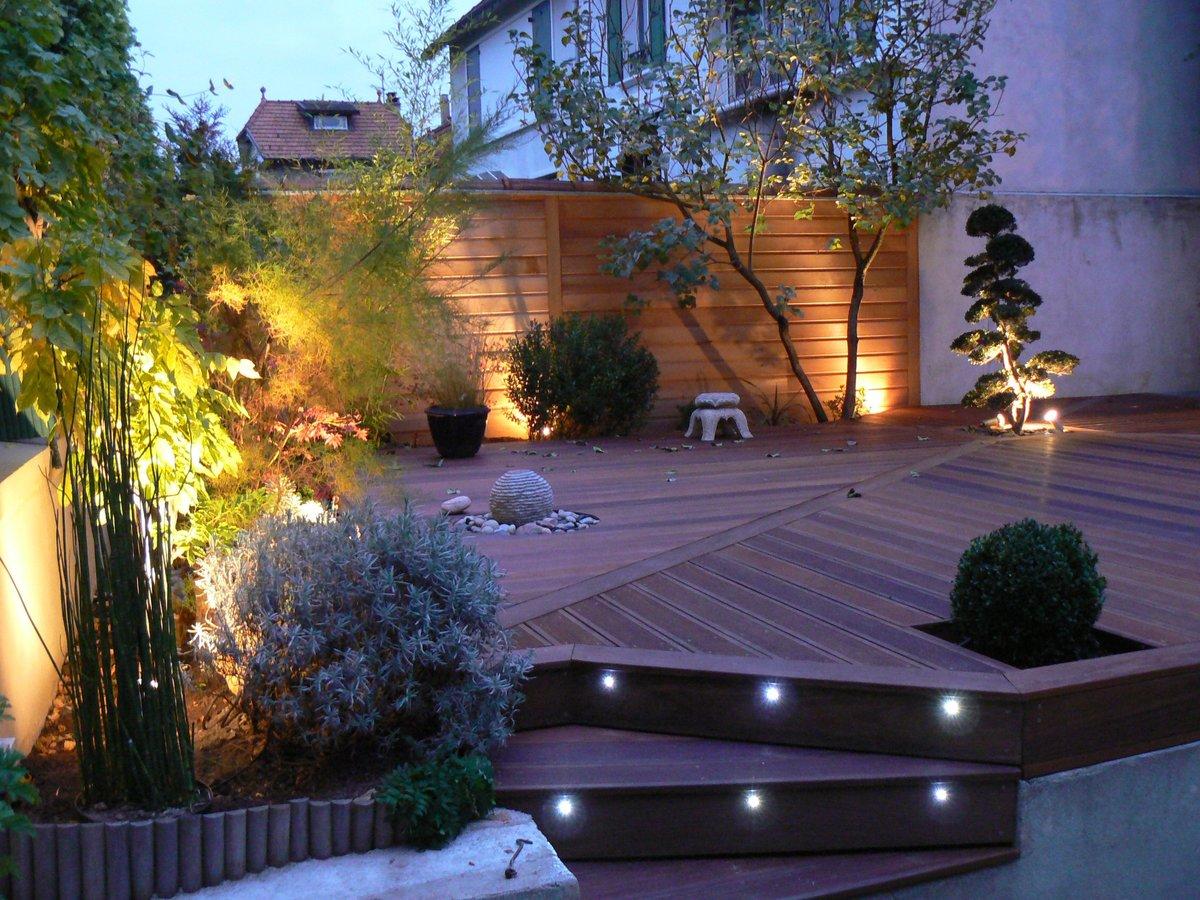 Освещение участка в ландшафтном дизайне — описываем подробно