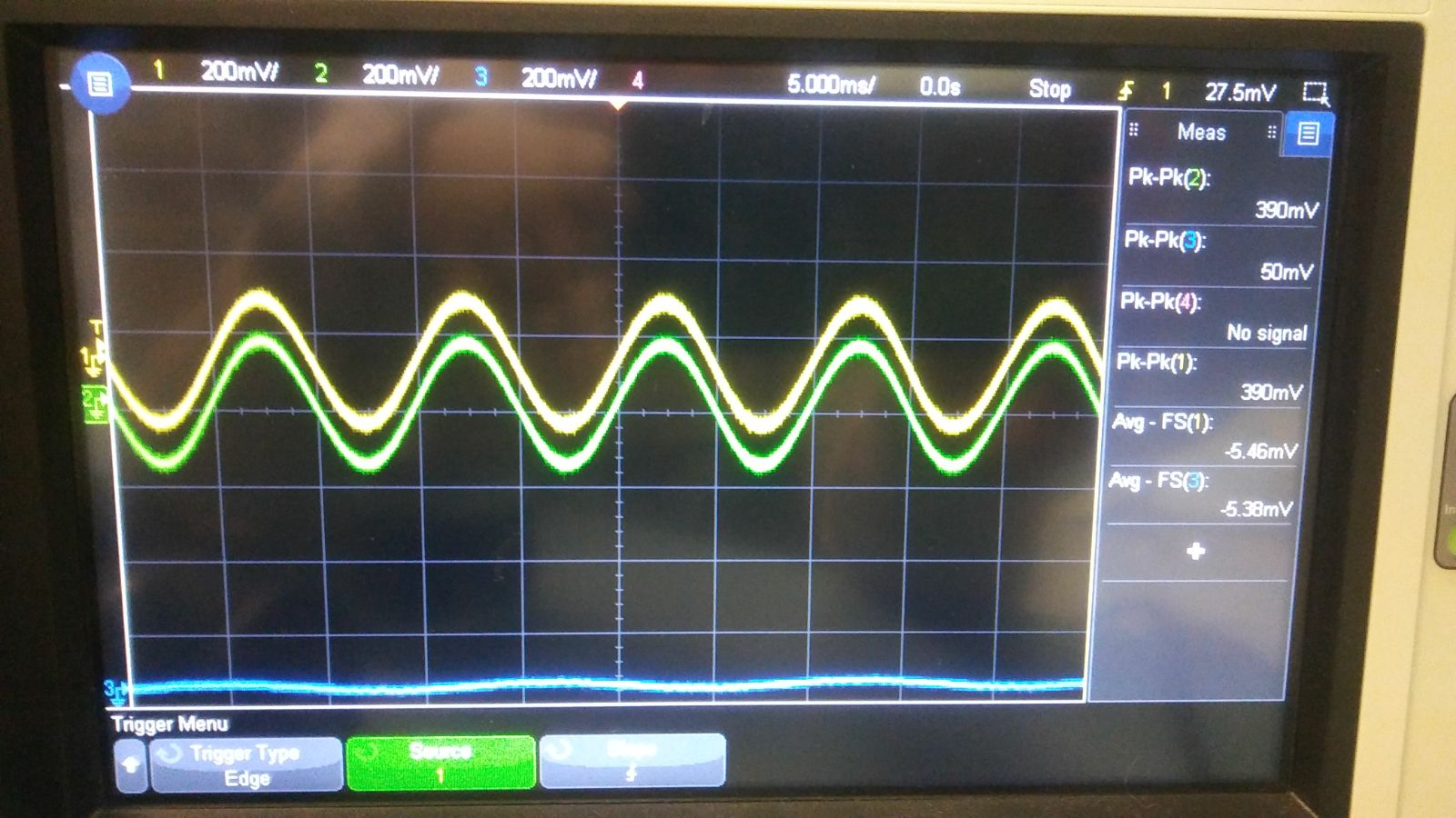 Как работать с осциллографом, проверяем усилитель низкой частоты
