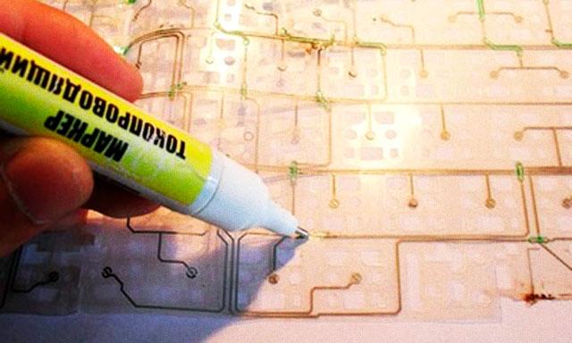 Как сделать токопроводящий (графитовый) лак?