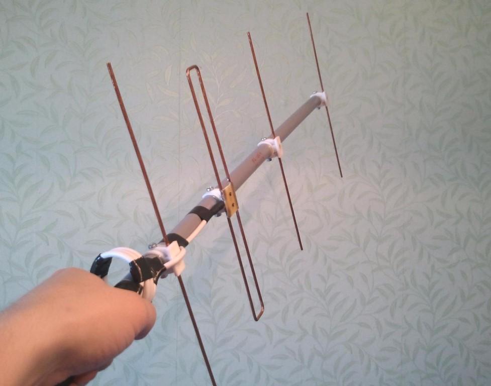 Изготовление антенны для цифрового тв своими руками