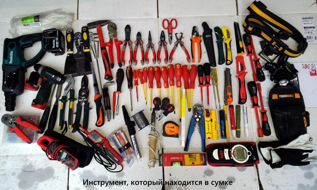 Набор электрика — какие инструменты туда входят