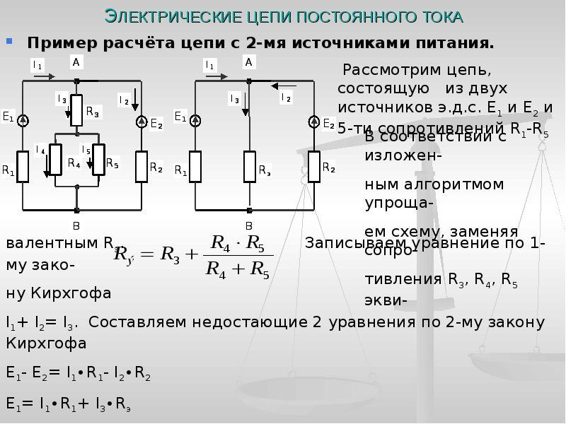 Измерение тока.