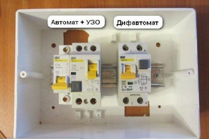 Дифференциальный автомат надежная защита электрических цепей и человека