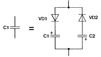 Силовой высоковольтный импульсный конденсатор