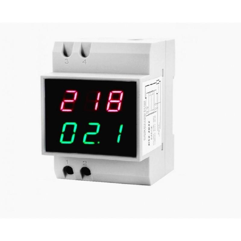 Амперметр/вольтметр вар-м02 на din рейку
