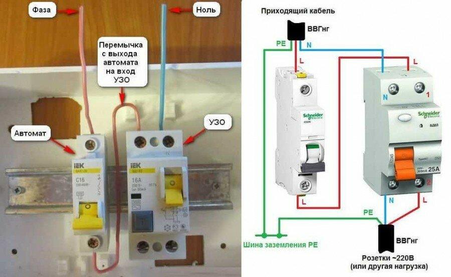 Вводной автомат для квартиры и частного дома
