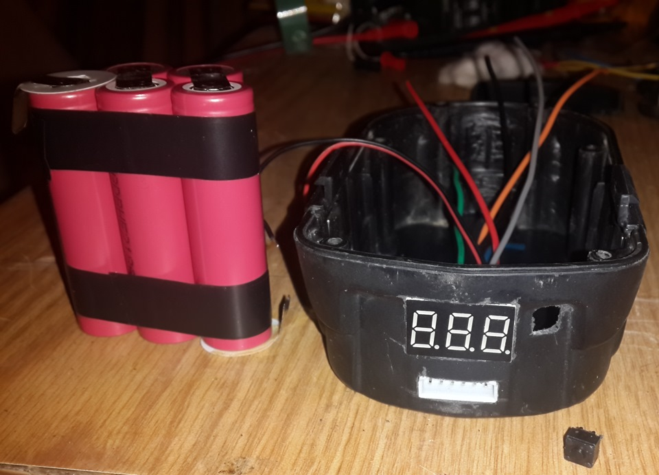 Переделка шуруповерта на литиевые аккумуляторы 18650