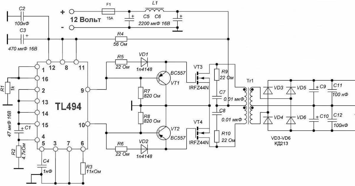Автомобильный инвертор 12 220v - как выбрать преобразователь?
