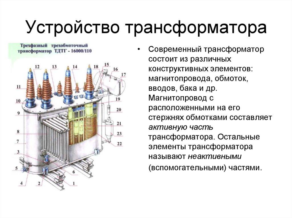 Что такое трансформатор напряжения