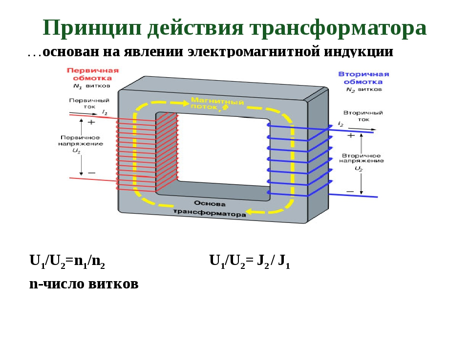 Что такое понижающий трансформатор и принцип его работы