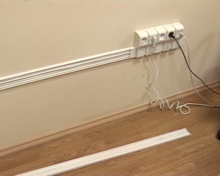 Как проложить проводку в кабель-канале