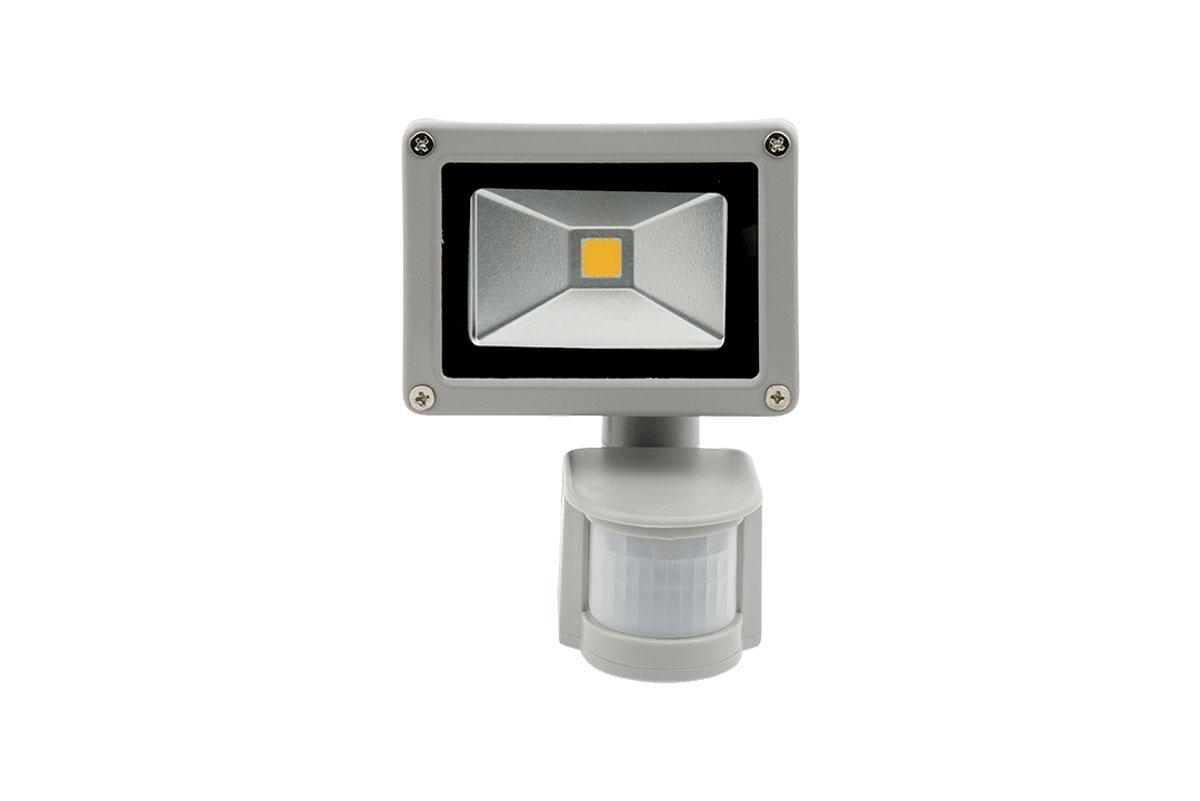 Как установить прожектор с датчиком движения для улицы?