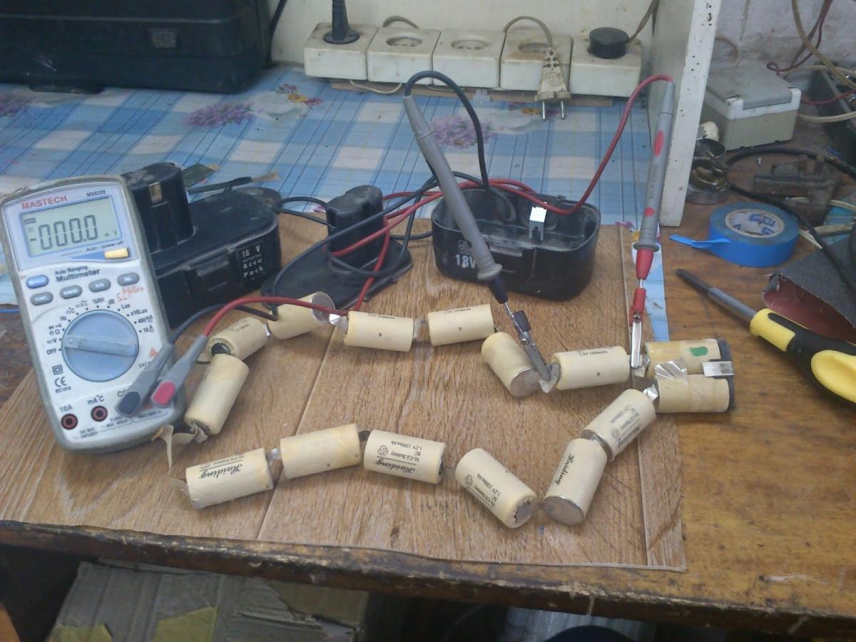 Ремонт аккумуляторов для шуруповертов: пошаговая инструкция восстановления и замены