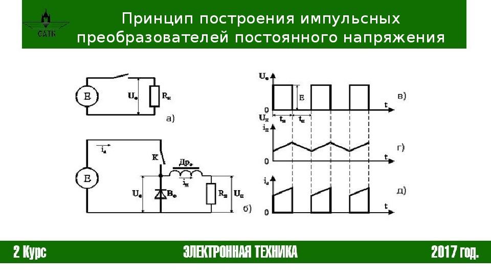 Dc dc преобразователь. устройство и принцип работы основных схем.