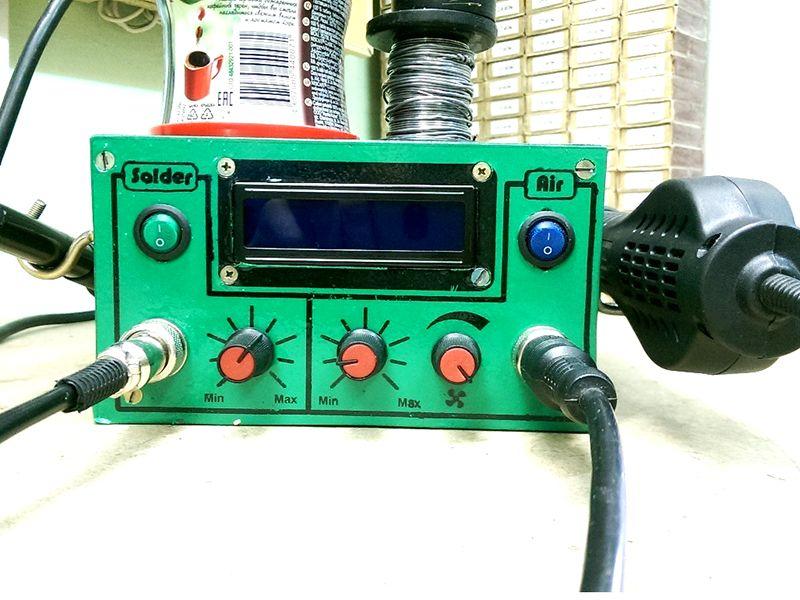 Термофен для паяльной станции