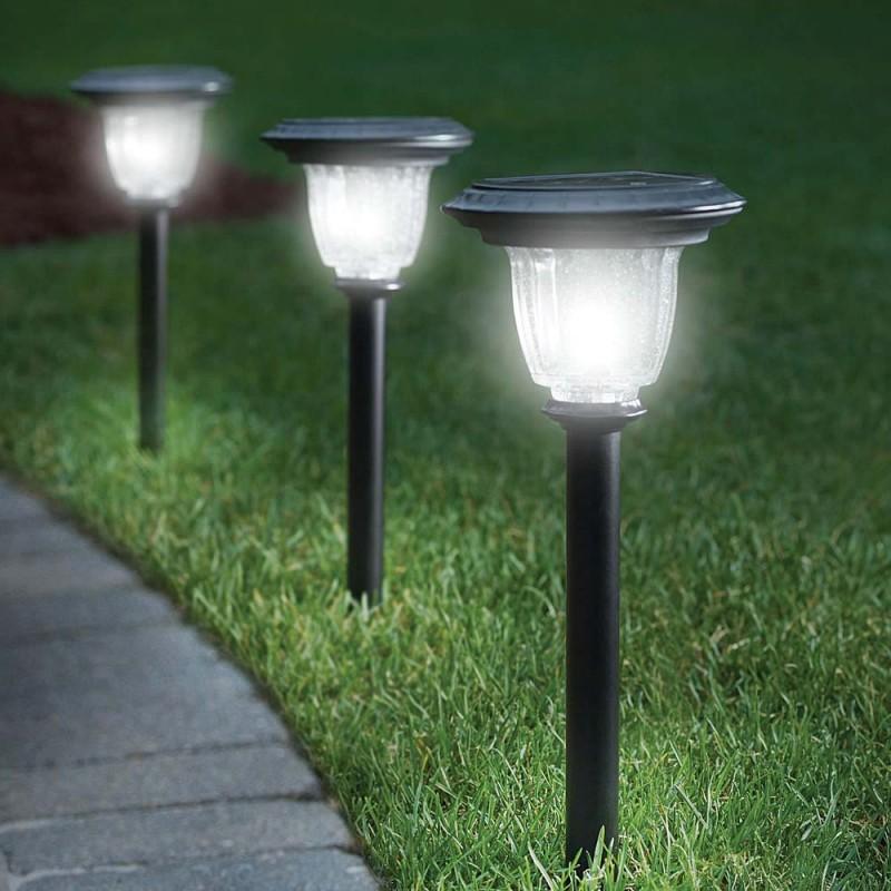 Уличное освещение разных видов