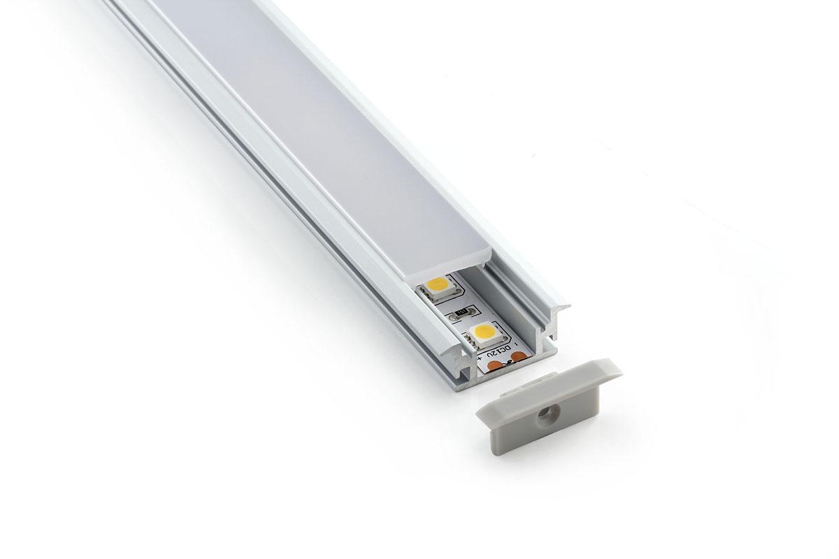 Применение профилей для светодиодных лент и виды монтажа в интерьере