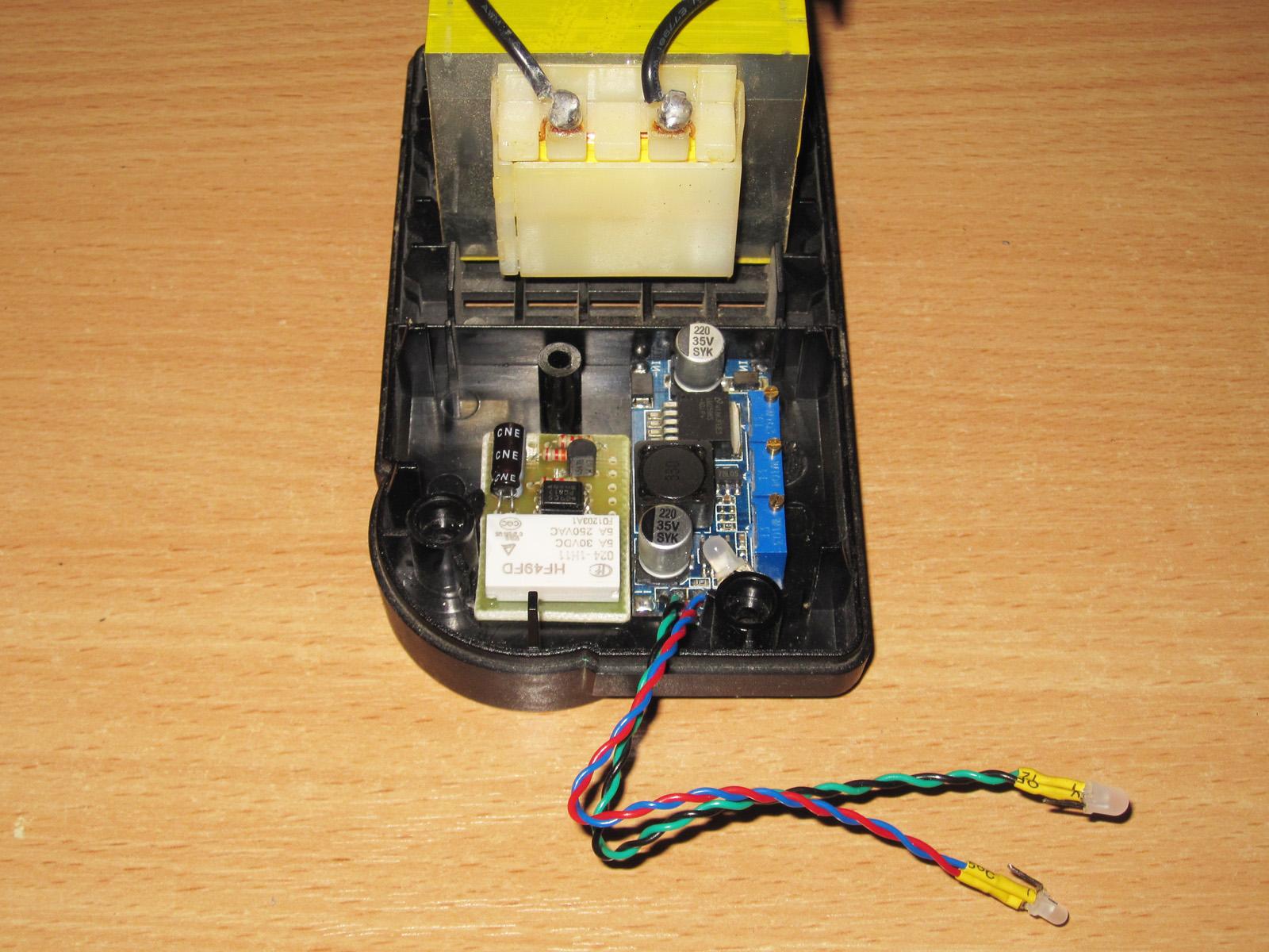 Ремонт зарядного для литиевых аккумуляторов
