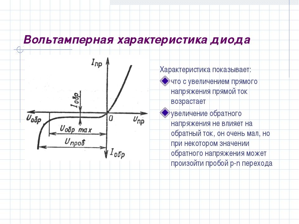 Как работает диод с барьером шоттки