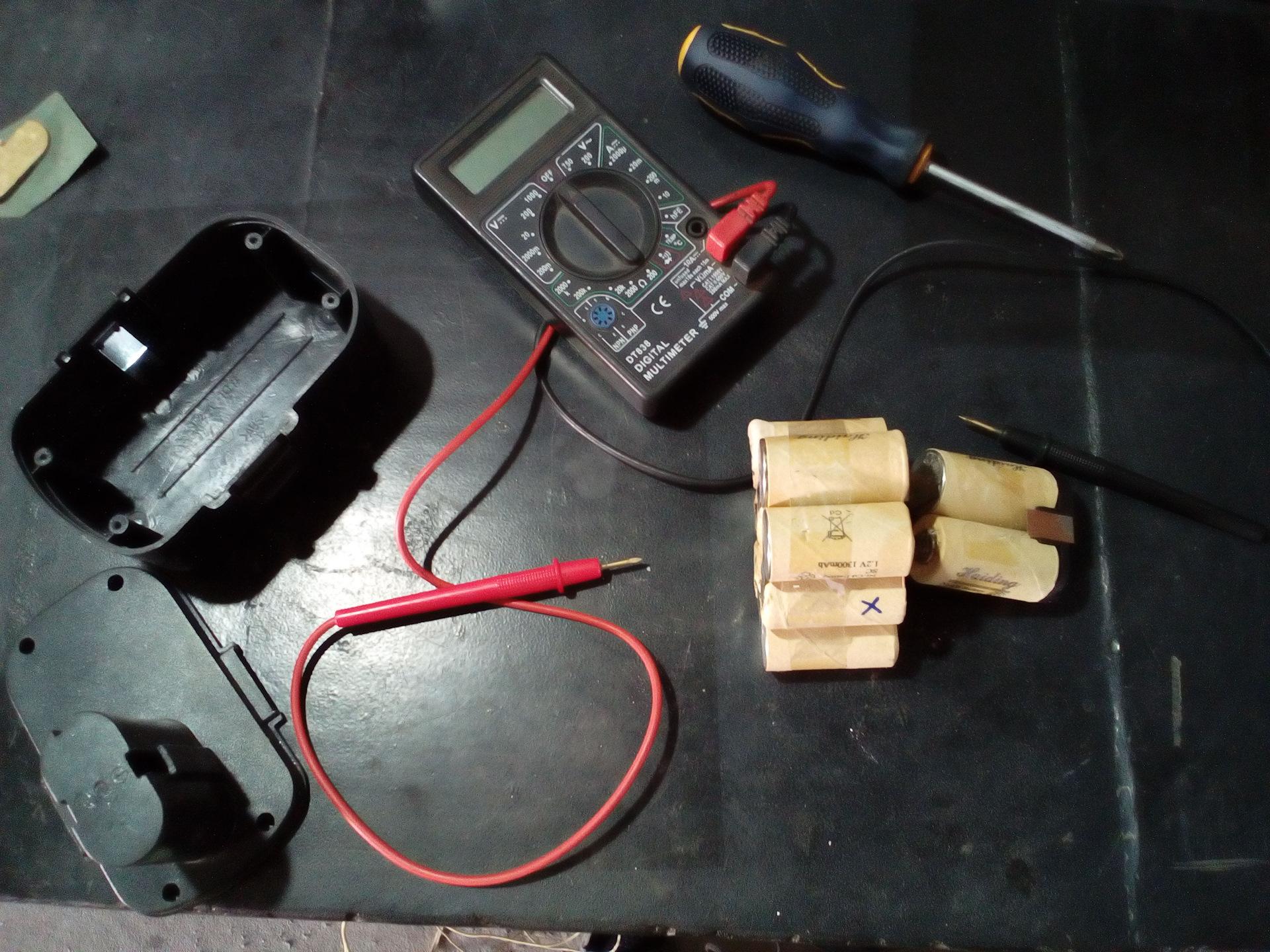 Как отремонтировать аккумулятор для шуруповерта в домашних условиях