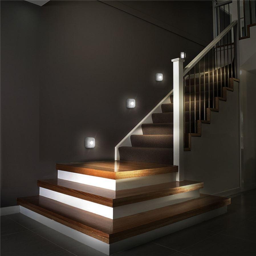 Выбор и установка осветительных приборов для подсветки лестницы