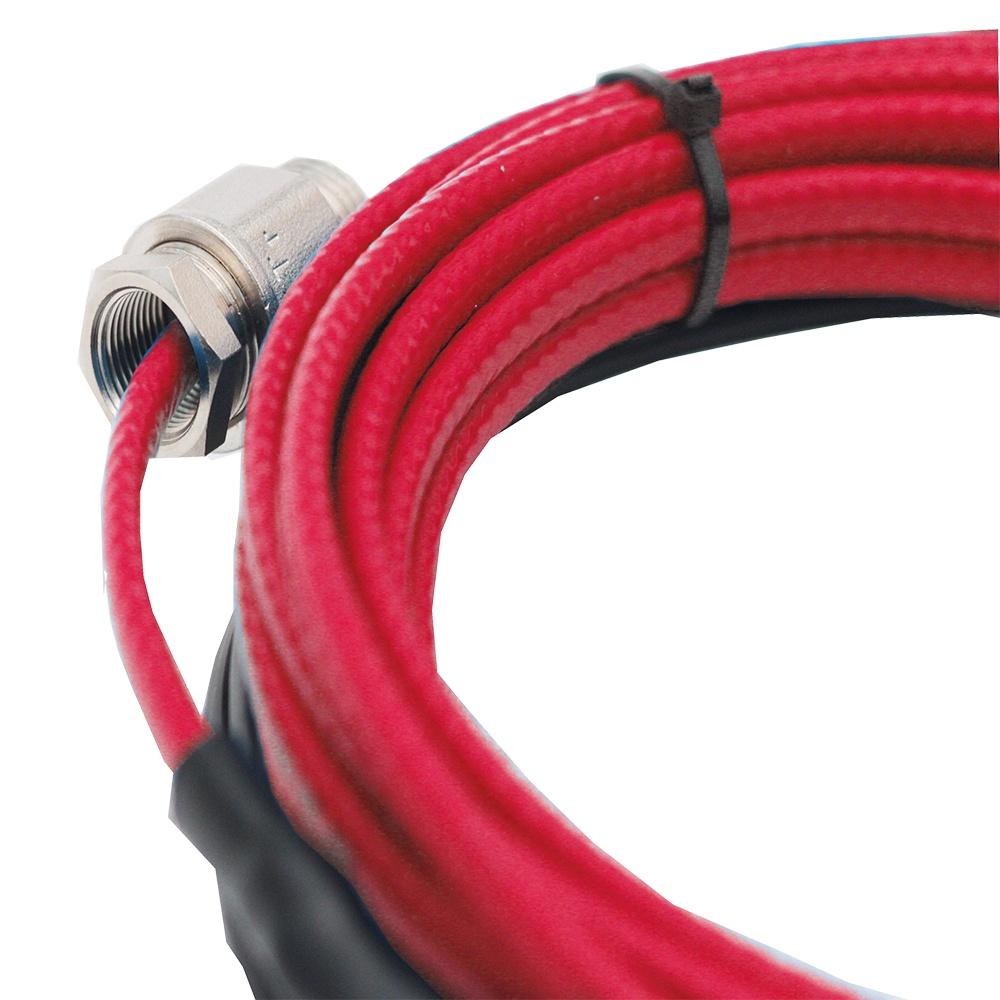 Монтаж саморегулирующегося греющего кабеля для обогрева труб