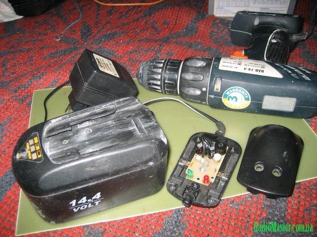 Зарядное устройство (зарядка) для шуруповерта и его схемы