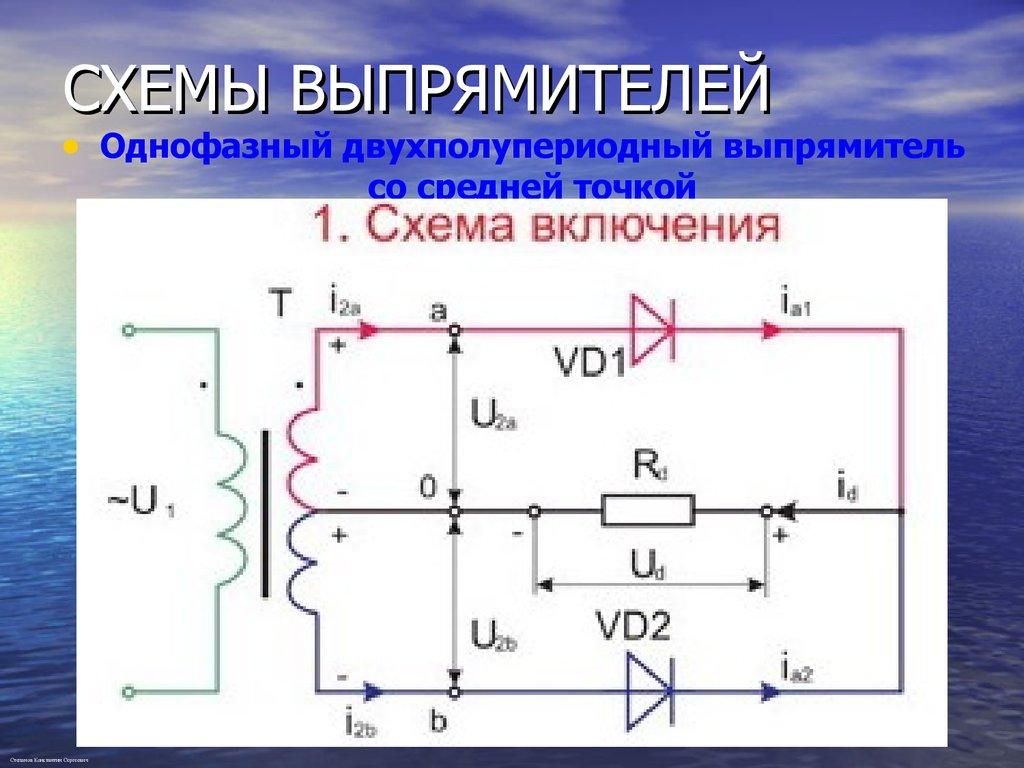 Особенности применения основных видов силовых диодов