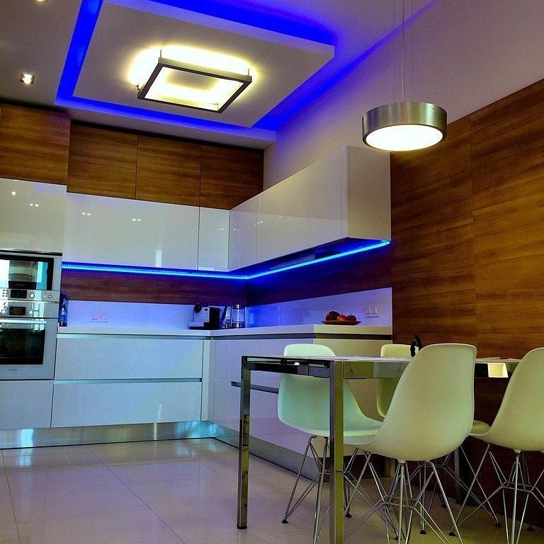 Варианты подсветки потолка в помещениях