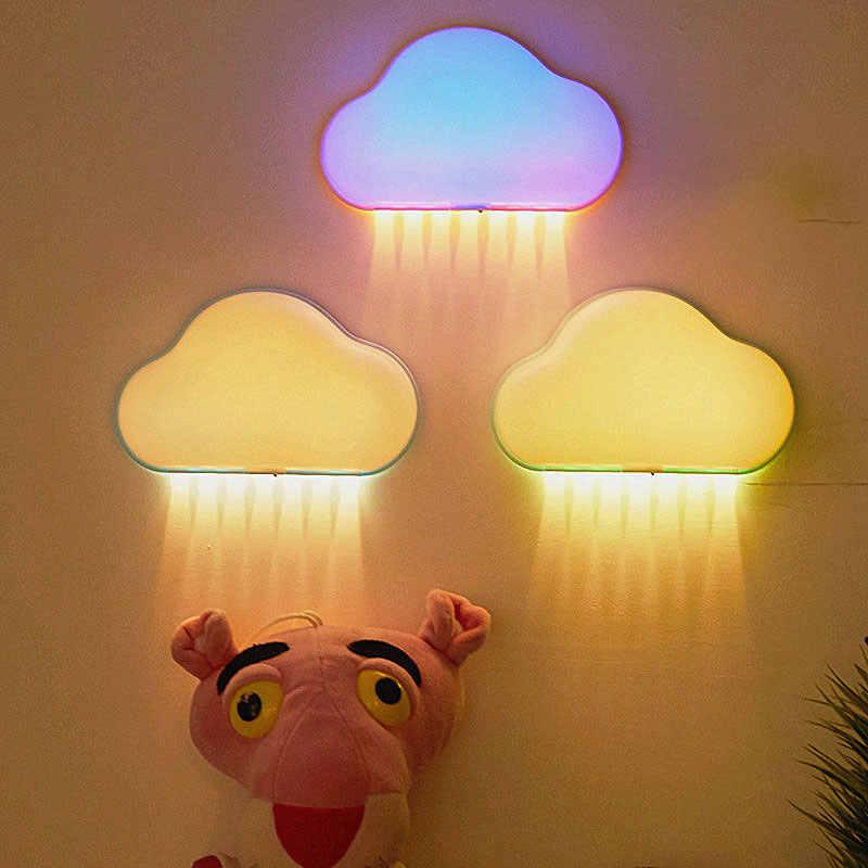 Варианты выбора дизайна и вида ночников в интерьер детской комнаты