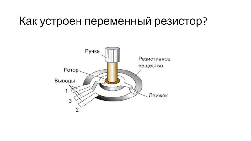 Что такое резистор?