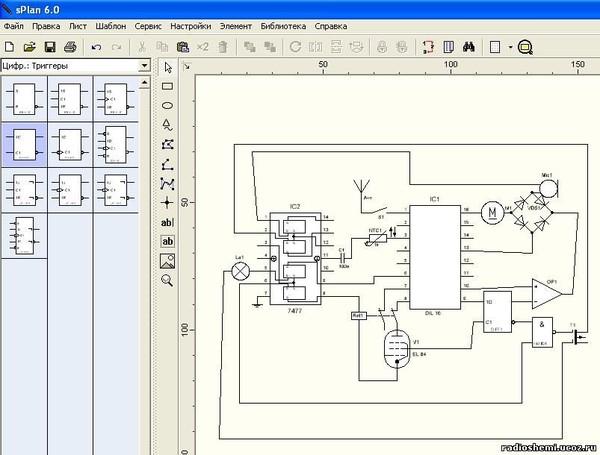 3. софт: полезные советы по работе с программой для черчения электрических схем splan 7.