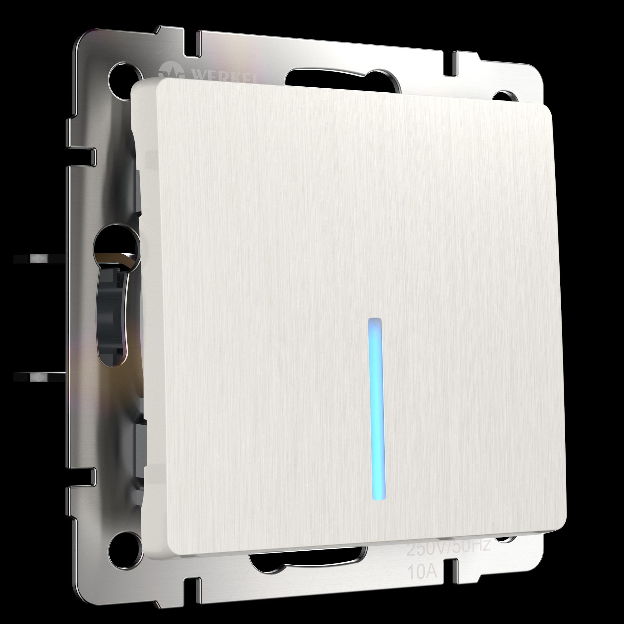 Подключение выключателя с подсветкой