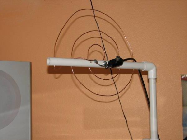 Простая антенна своими руками для цифрового тв